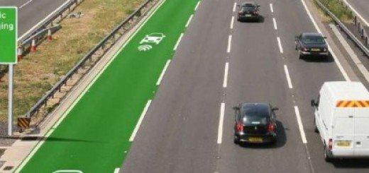 Nel Regno Unito corsie a ricarica wireless per le auto elettriche