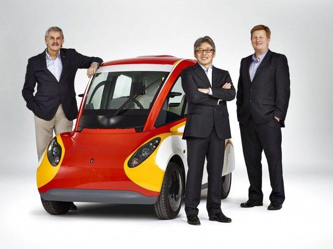 Stupefacente Shell Concept 100 km con 2,46 litri di benzina (1)