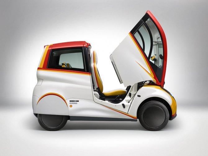 Stupefacente Shell Concept 100 km con 2,46 litri di benzina (11)