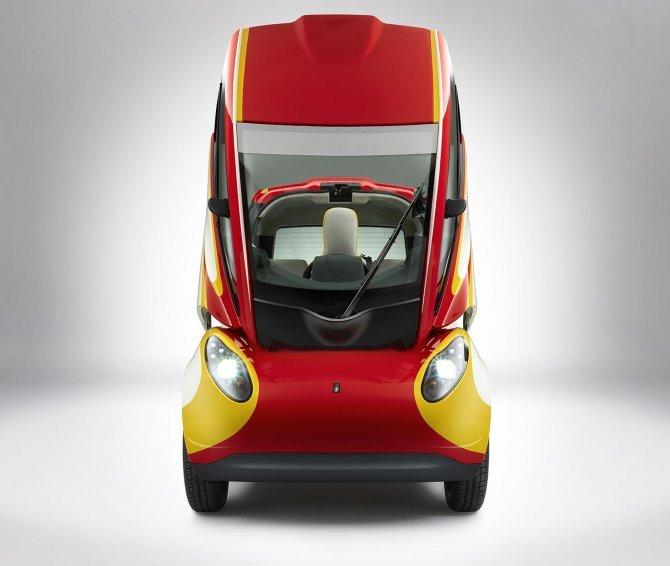 Stupefacente Shell Concept 100 km con 2,46 litri di benzina (2)