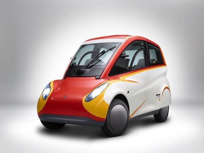 Stupefacente Shell Concept 100 km con 2,46 litri di benzina (6)