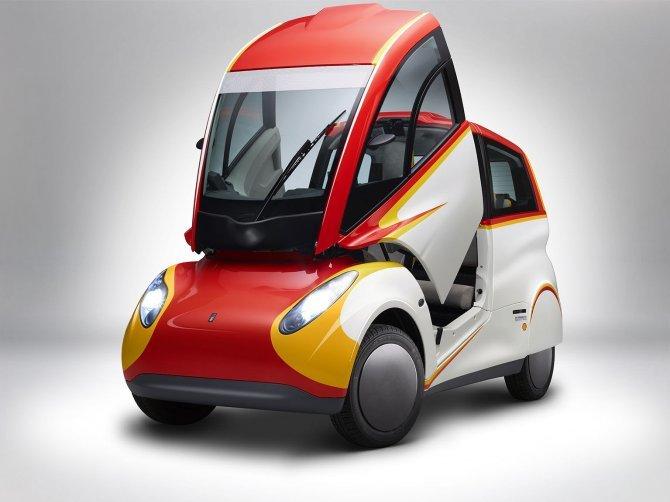 Stupefacente Shell Concept 100 km con 2,46 litri di benzina (8)