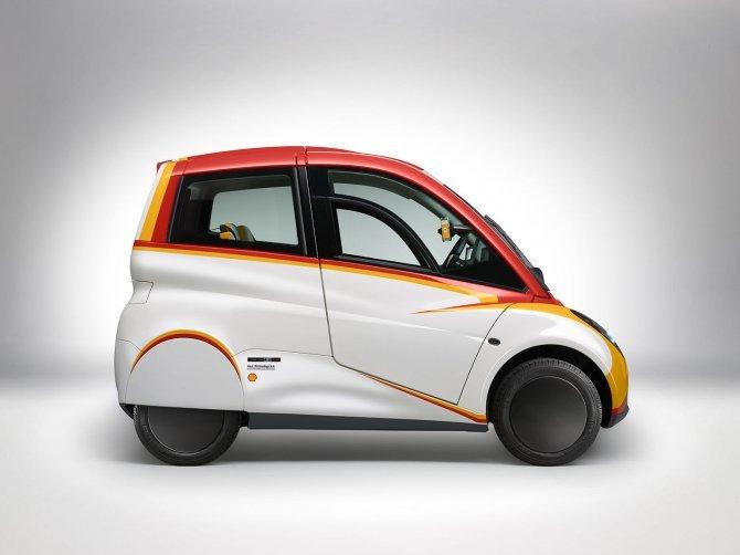 Stupefacente Shell Concept 100 km con 2,46 litri di benzina (9)